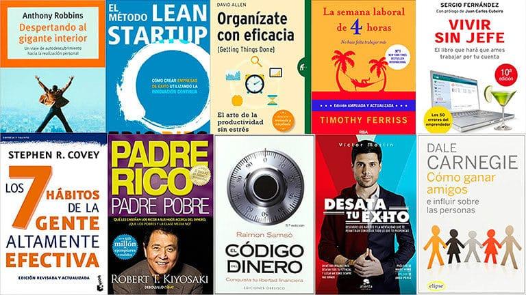 Los top 10 libros en español para emprendedores
