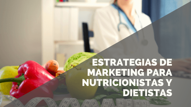 Marketing para nutricionistas y dietistas