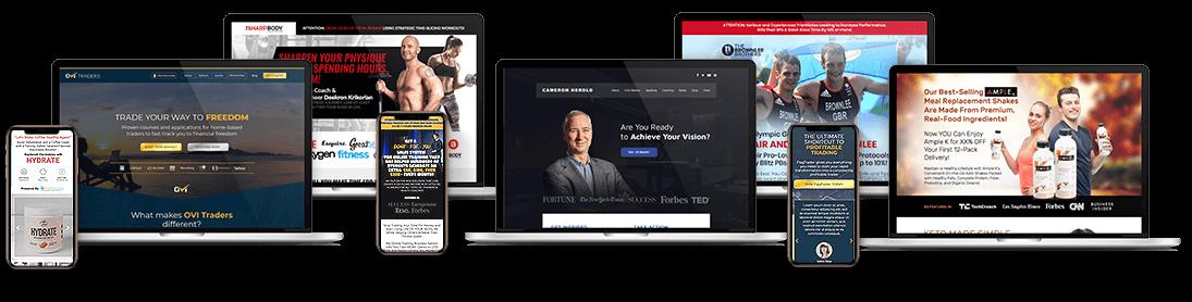 Webs entrenamiento personal y fitness
