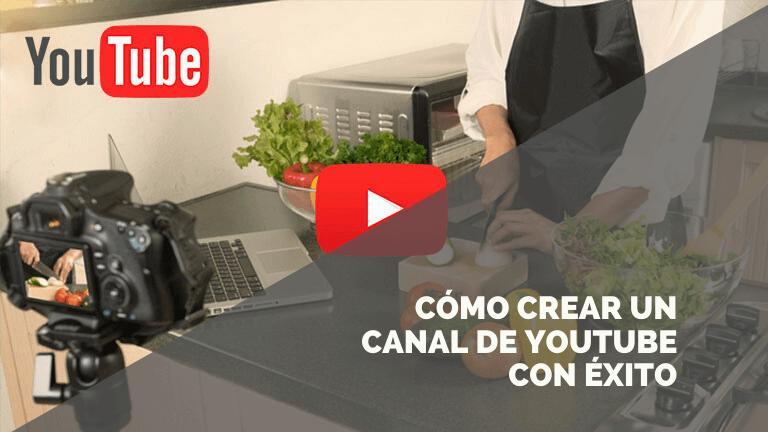 Triunfa en Youtube con tu canal de nutrición