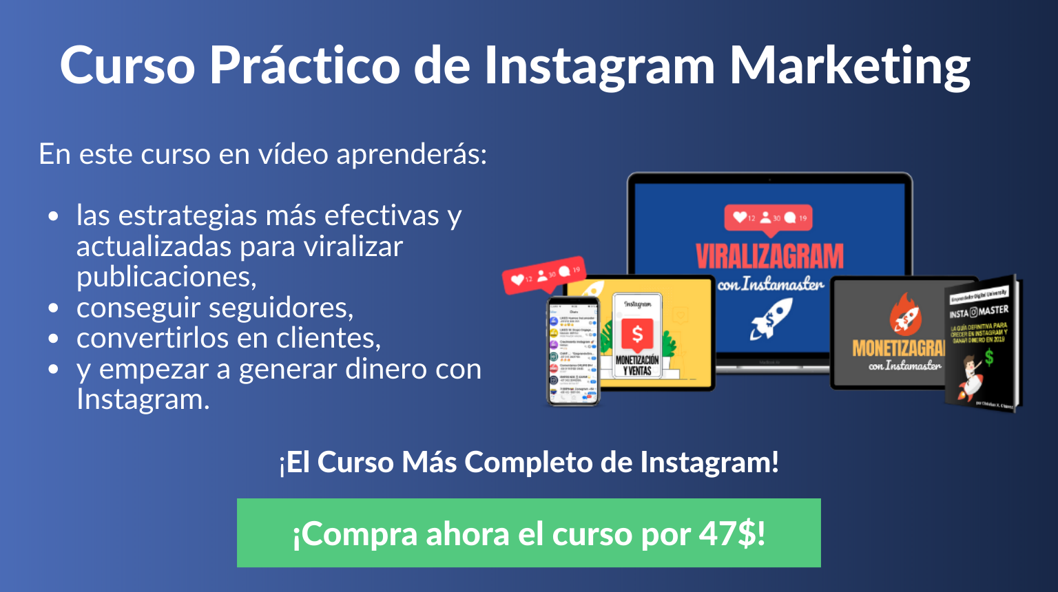 Curso Instagram Marketing para Negocios