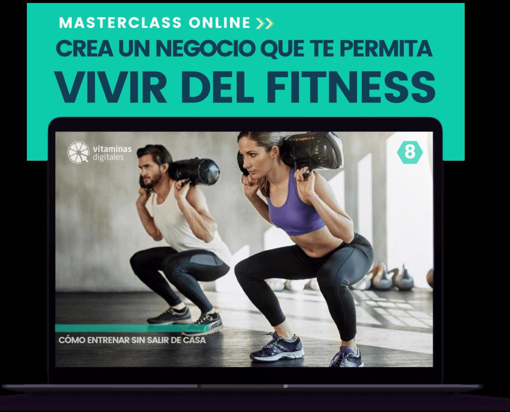 Vivir del Fitness masterclas