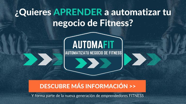 Curso Automatiza tu negocio de Fitness