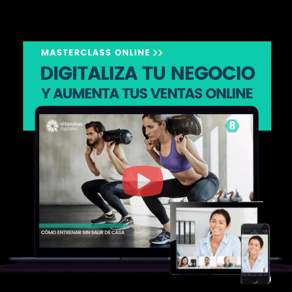 Masterclass Digitaliza tu negocio