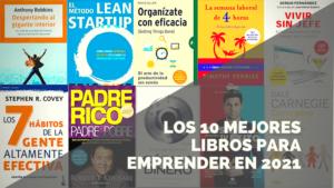 10 libros para emprendedores atrevidos que quieran emprender en 2021