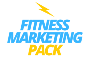 Fitness Marketing Pack logo azul