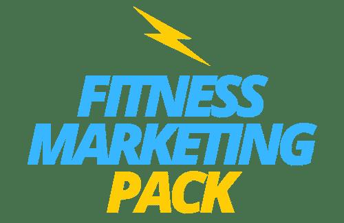 Fitness Marketing Pack logo azul