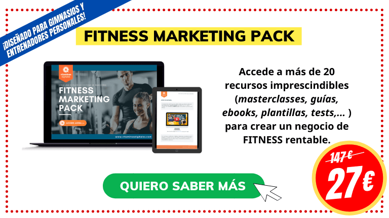 Marketing para entrenadores personales pack