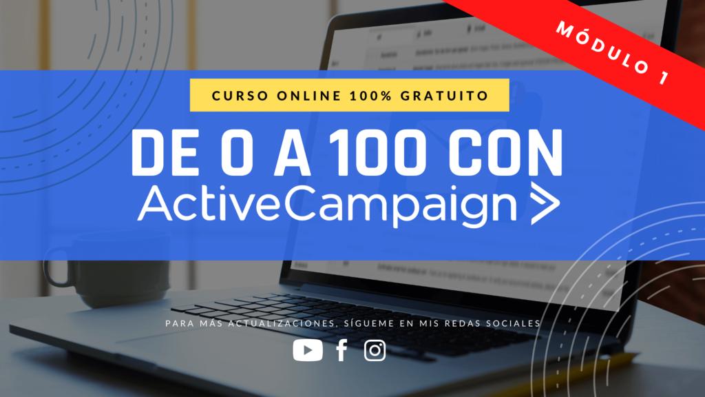 Curso Active Campaign M1