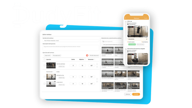 Dudyfit Fitness APP Personal Trainers